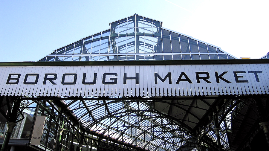 Il Borough Market di Londra
