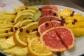 frutta con sciroppo do zenzero