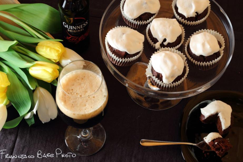 Muffin alla guinness