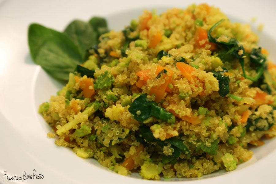 Quinoa con verdure delpassaggio