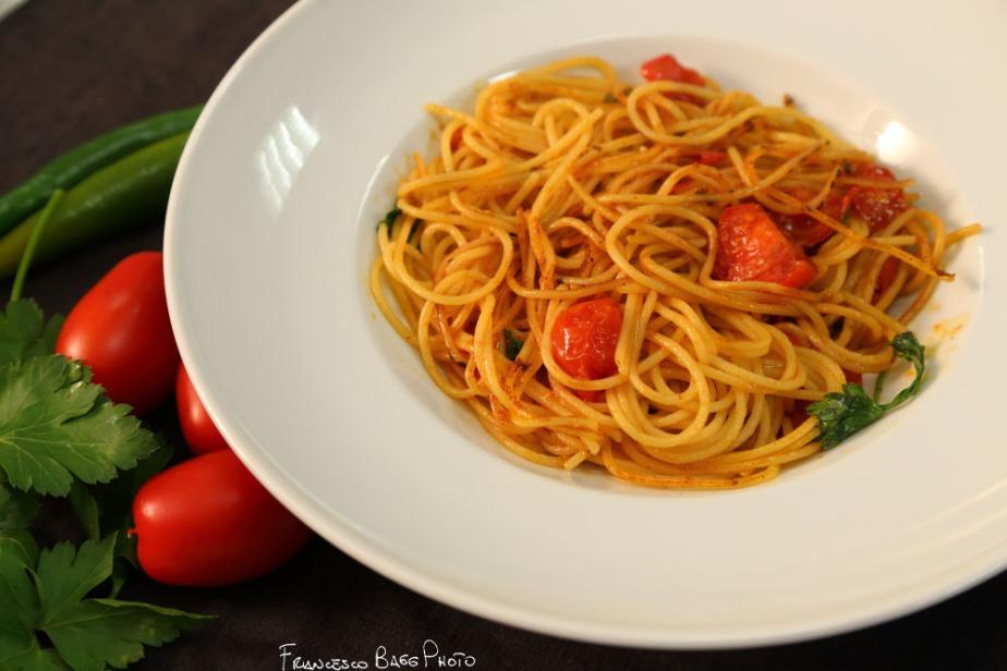 Spaghettata aglio e olio aggravata glutenfree