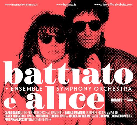 Una notte di Pura Poesia a Roma:   Franco Battiato e Alice, Auditorium parco dellamusica