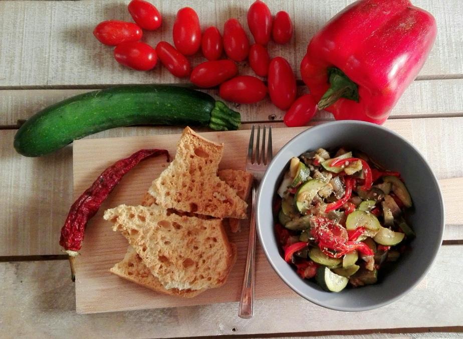 Ratatouille di verdure a modomio