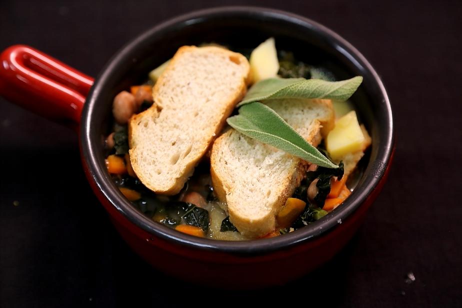 La zuppa.