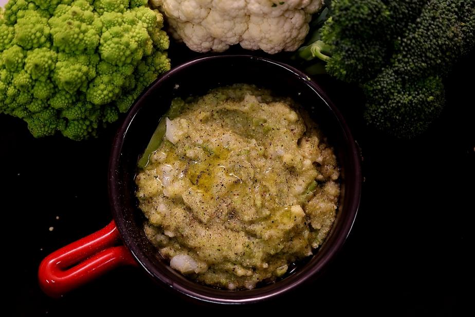 Trionfo di broccoli epolenta