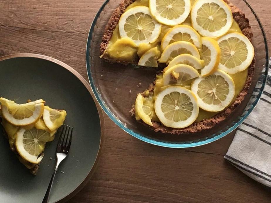 Crostata al limone senzaglutine